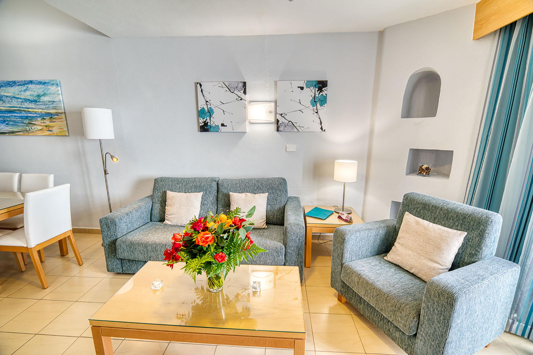 Hotel Rosas Living Room Apartment