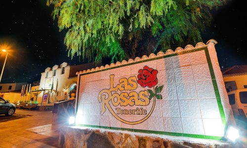 Hotel Rosas Logo Night